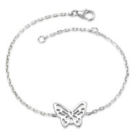 Armband Silber Schmetterling