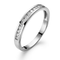 Memory Ring 750/18 K Weissgold Diamant 0.20 ct-561923