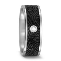 Partnerring Titan, Carbon Diamant 0.03 ct-567655