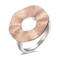 Fingerring Silber rosé bicolor Ø20 mm-593054