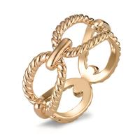 Fingerring Bronze gelb vergoldet-596146