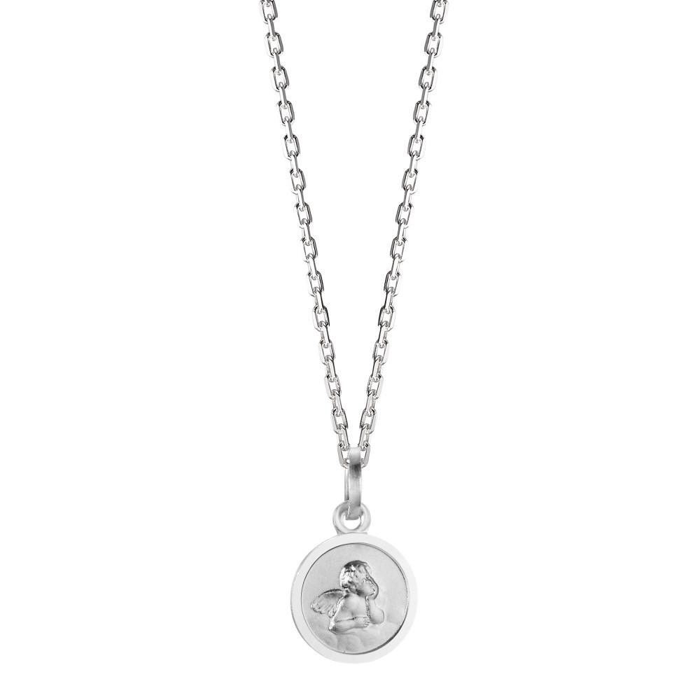 Rhomberg Schmuck: Halskette mit Anhänger Silber rhodiniert