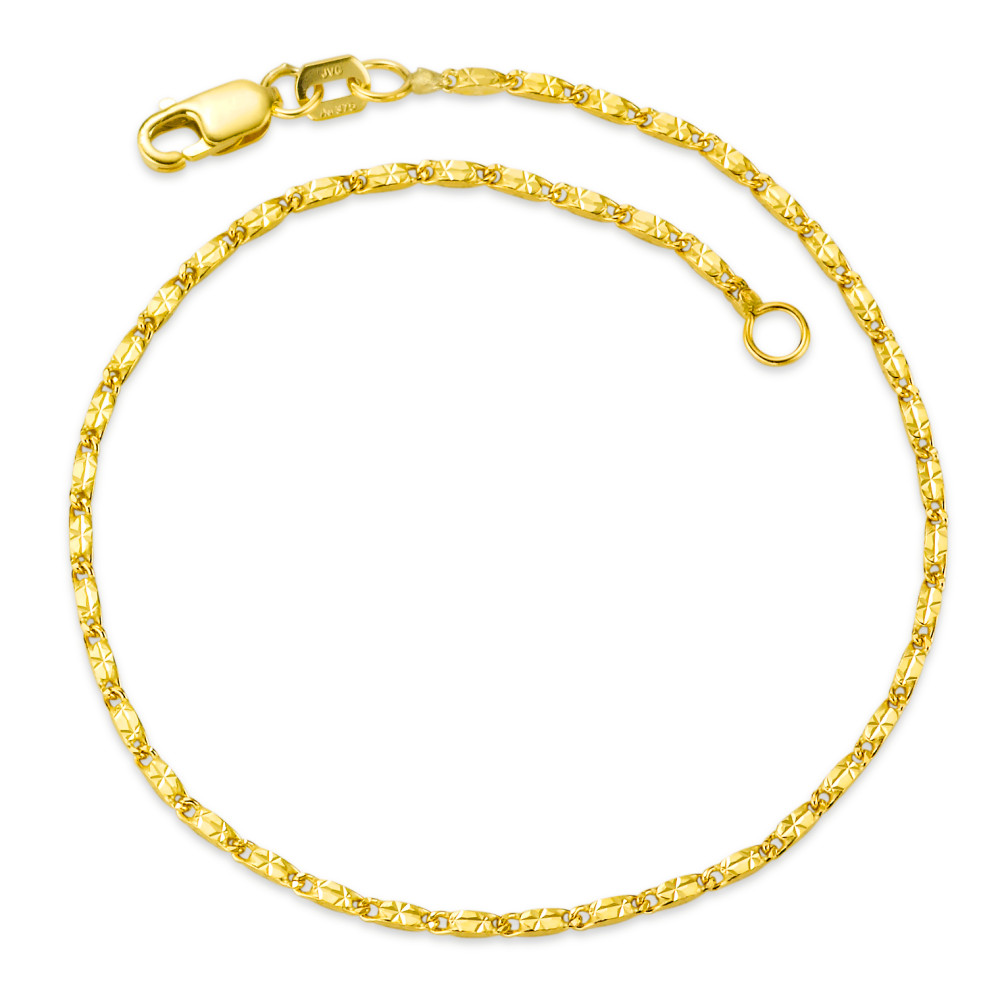 Rhomberg Schmuck: Armband 3759 K Gelbgold 17 cm