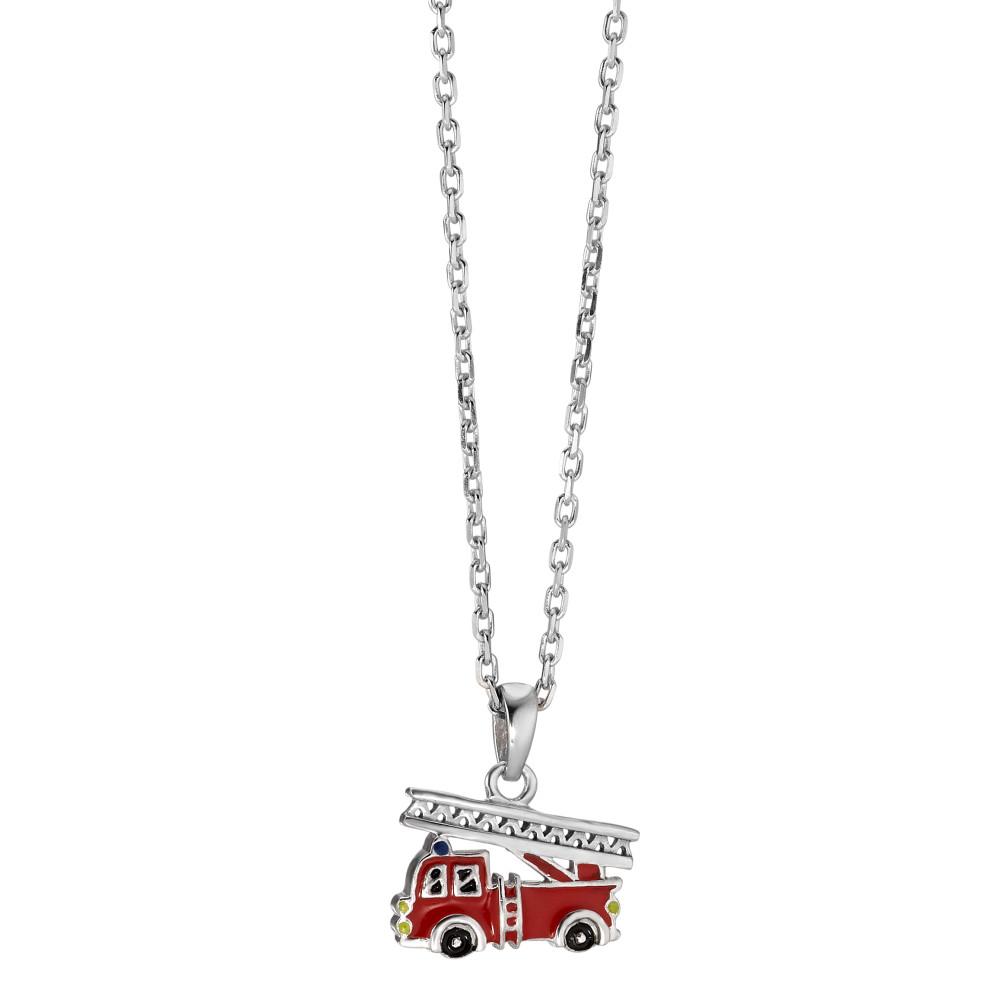 Rhomberg Schmuck: Halskette mit Anhänger Silber lackiert 38