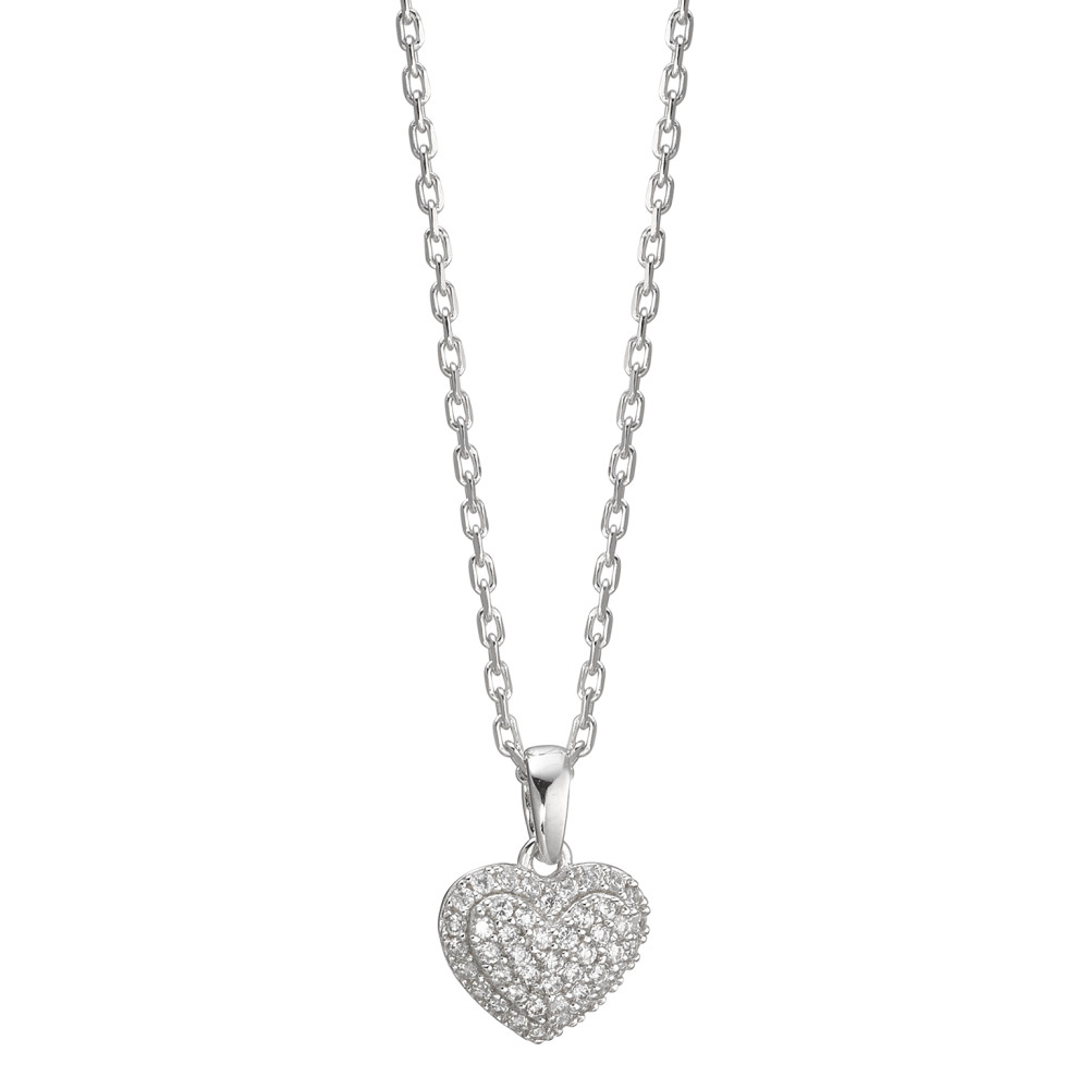 Rhomberg Schmuck: Halskette mit Anhänger Silber Zirkonia
